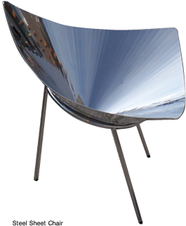 Steel Sheet Chair
