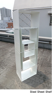 Steel Sheet Shelf